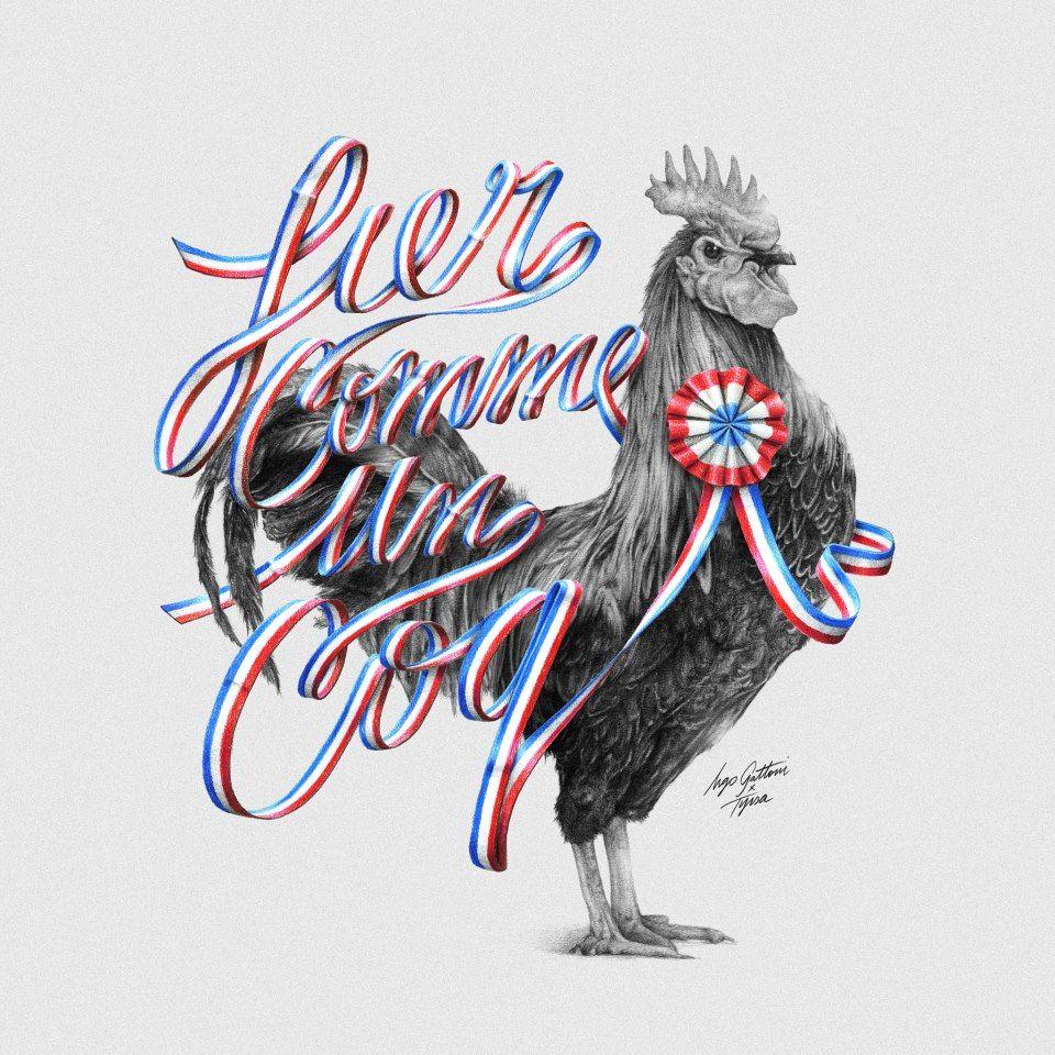 Fier Comme Un Coq by Ugo Gattoni + Tyrsa.