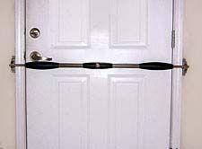 The Katy Bar 2 Point Door Lock In Action