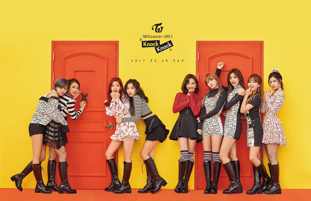 @JYPETWICE: TWICE SPECIAL ALBUM TWICE KNOCK KNOCK 2017.02.20 0AM #TWICE #트와이스 #KNOCKKNOCK