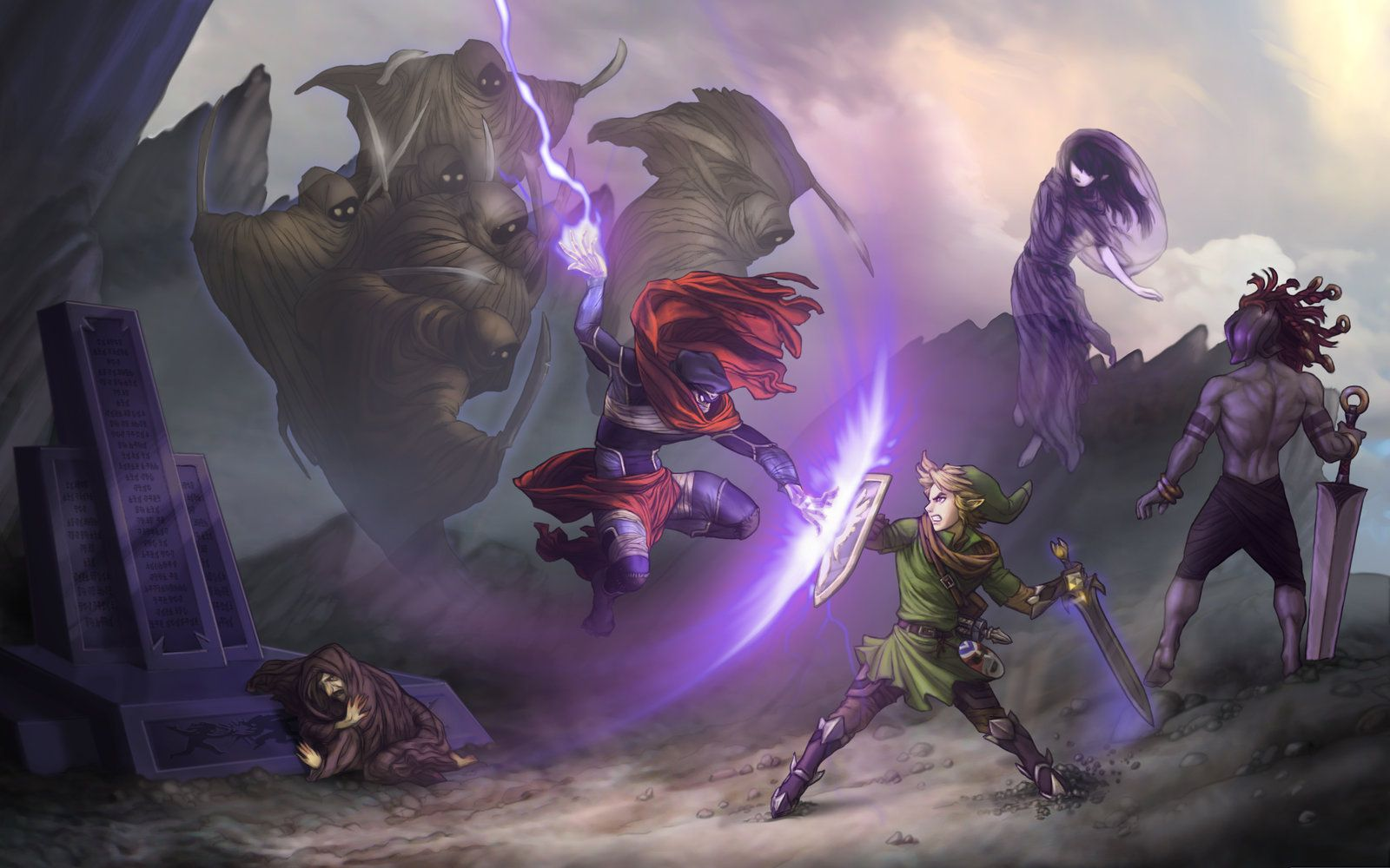 The Legend of Zelda: Shadow of Katirok - End Duel by ~Irontree on deviantART