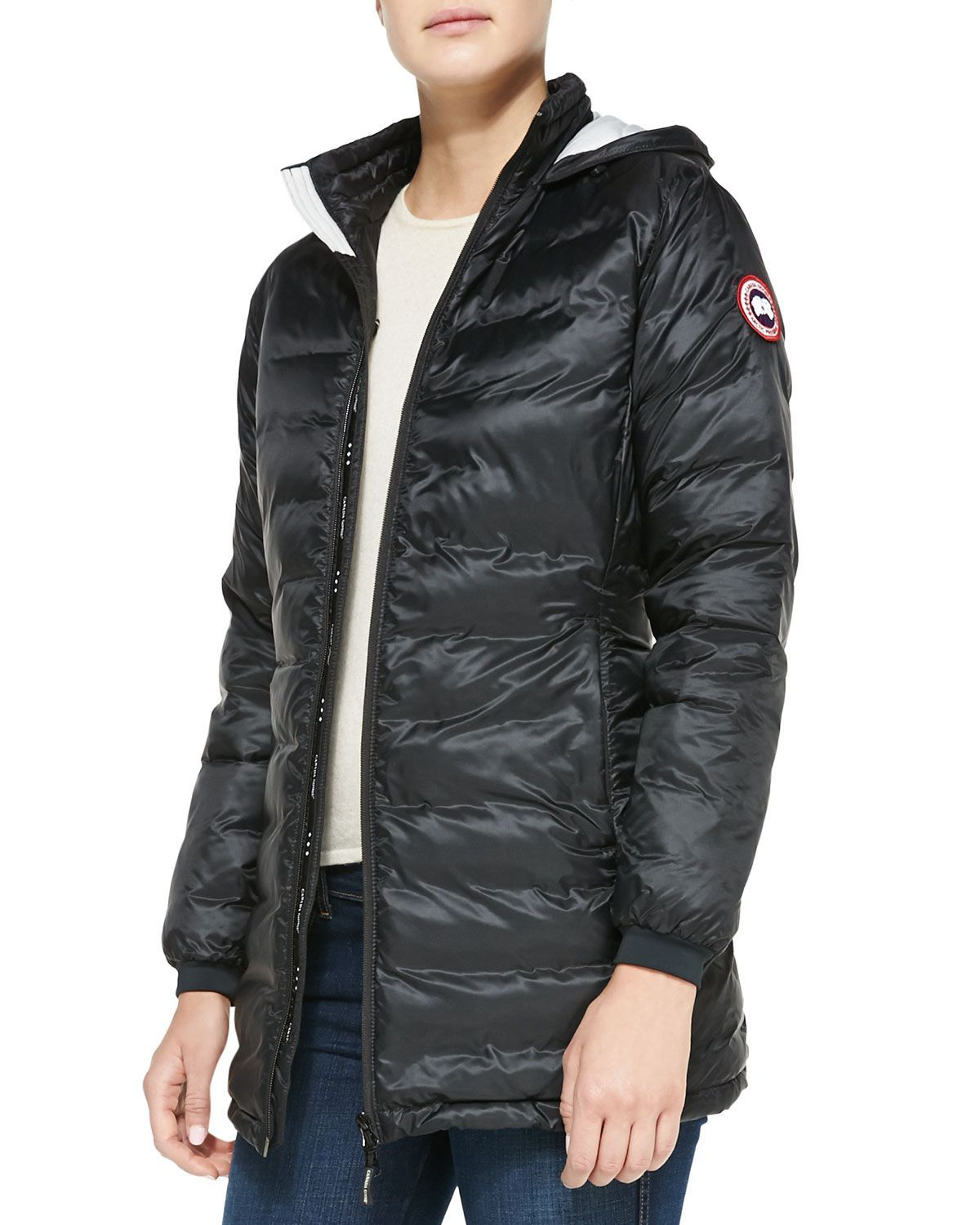 639722136daf Camp Hooded Mid-Length Puffer Coat