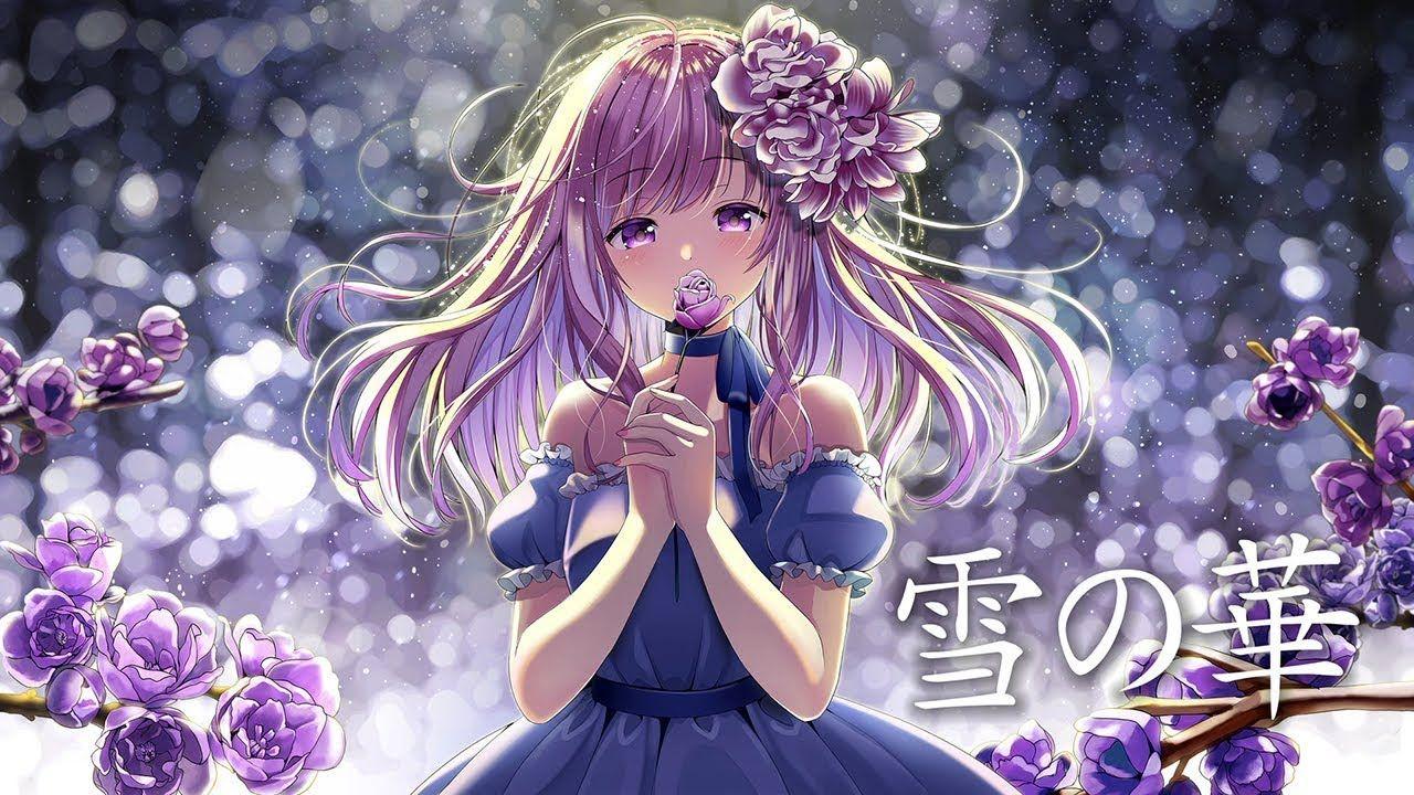 中島美嘉 雪の華 yuki no hana mika nakashima cover 花たん hanatan アニメの描き方 アニメファンタジー マンガアニメ