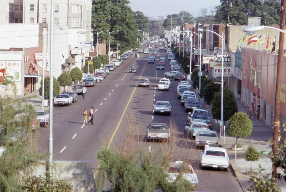 Greenville Ms Washington Avenue In The 1960 S Note