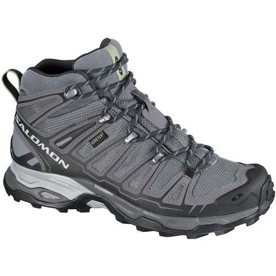 Salomon Womens X Ultra Mid GTX W Hiking ShoePearl GreyDark