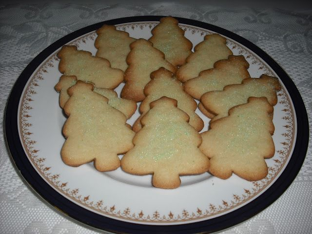 Recipe Marketing  : Christmas Tree Roll-Out Cookies