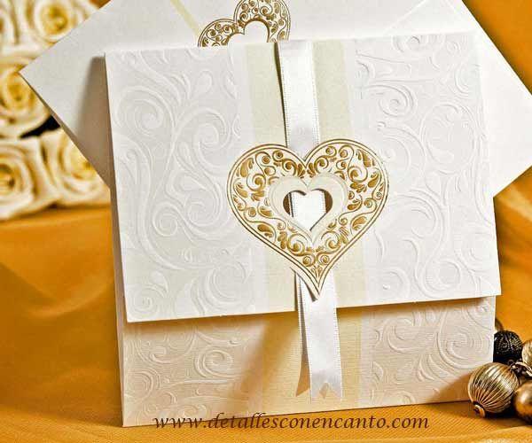 Tarjetas para bodas elegantes buscar con google - Tarjeta de boda ...