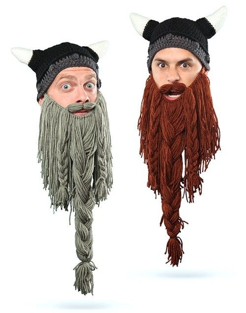 Knitted Beard Hats of the Day   Manualidades infantiles ...
