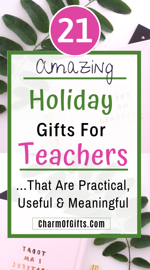 Gift Your Child's Teacher Something Useful This Holiday Season