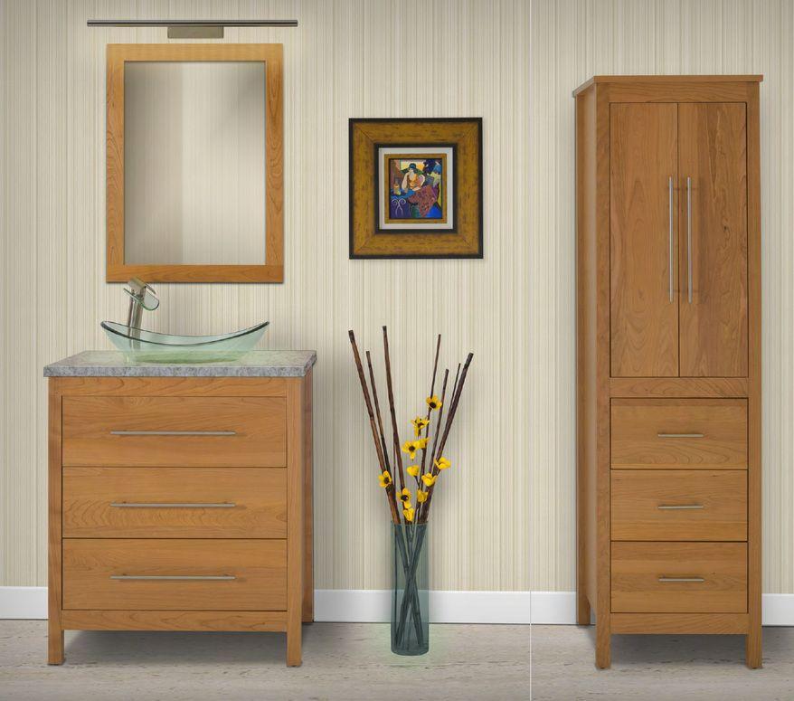 Strasser Woodenworks BELLTOWN Bathroom Vanity Bathrooms - Strasser bathroom vanities