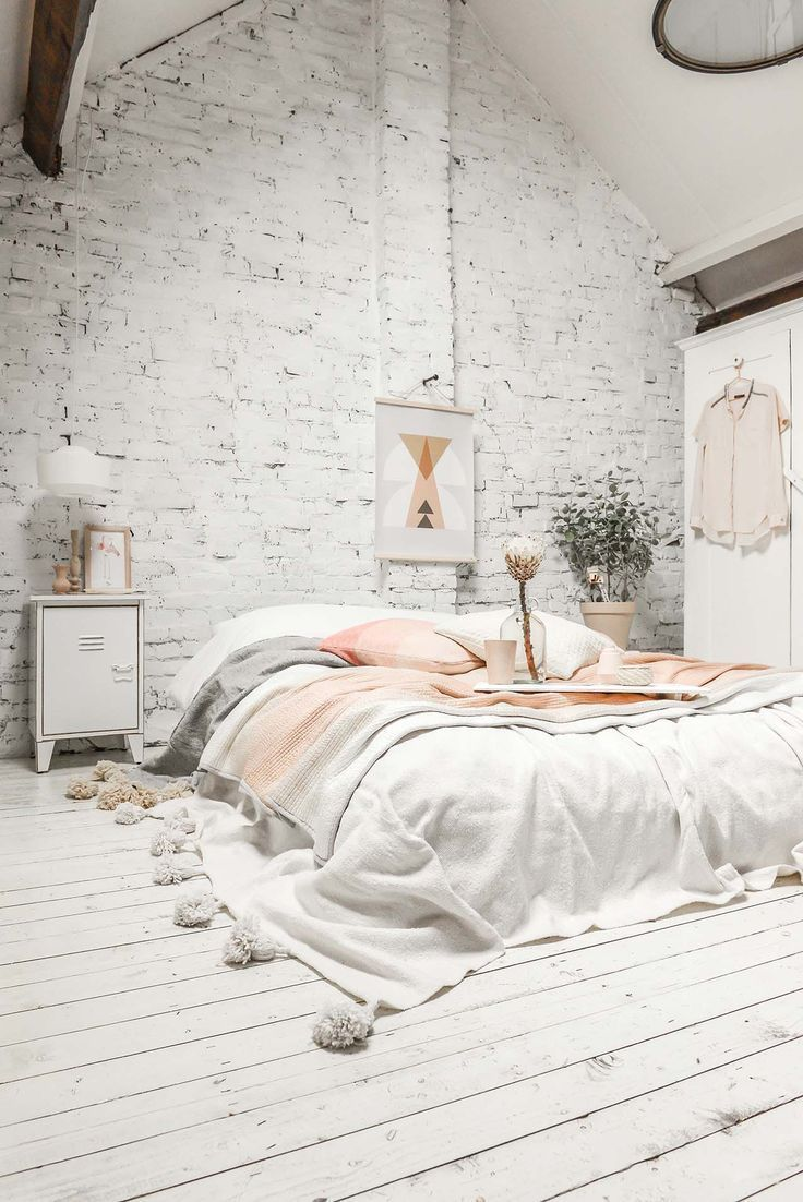 Weißes Schlafzimmer Modern 45 Scandinavian Bedroom Ideas That Are Modern And Stylish