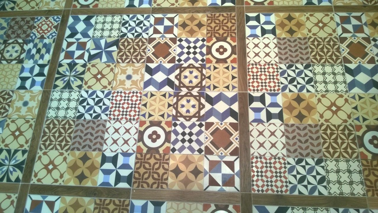 Antoni multi colour patchwork victorian encaustic porcelain wall antoni multi colour patchwork victorian encaustic porcelain wall floor tiles ebay dailygadgetfo Images