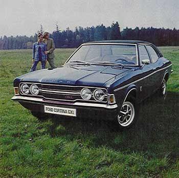 1972 Ford Cortina Mk111 Gxl 4 Door Sedan It Was A Popular Model