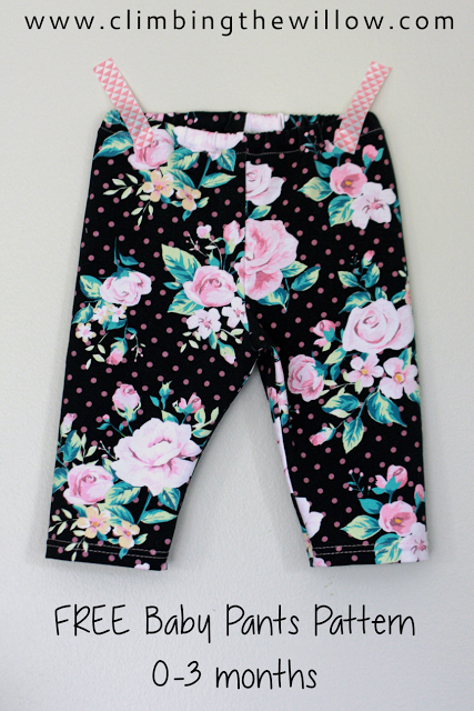 Adaptable Baby Girl Cropped Leggings 3-6 Months Baby & Toddler Clothing Bottoms