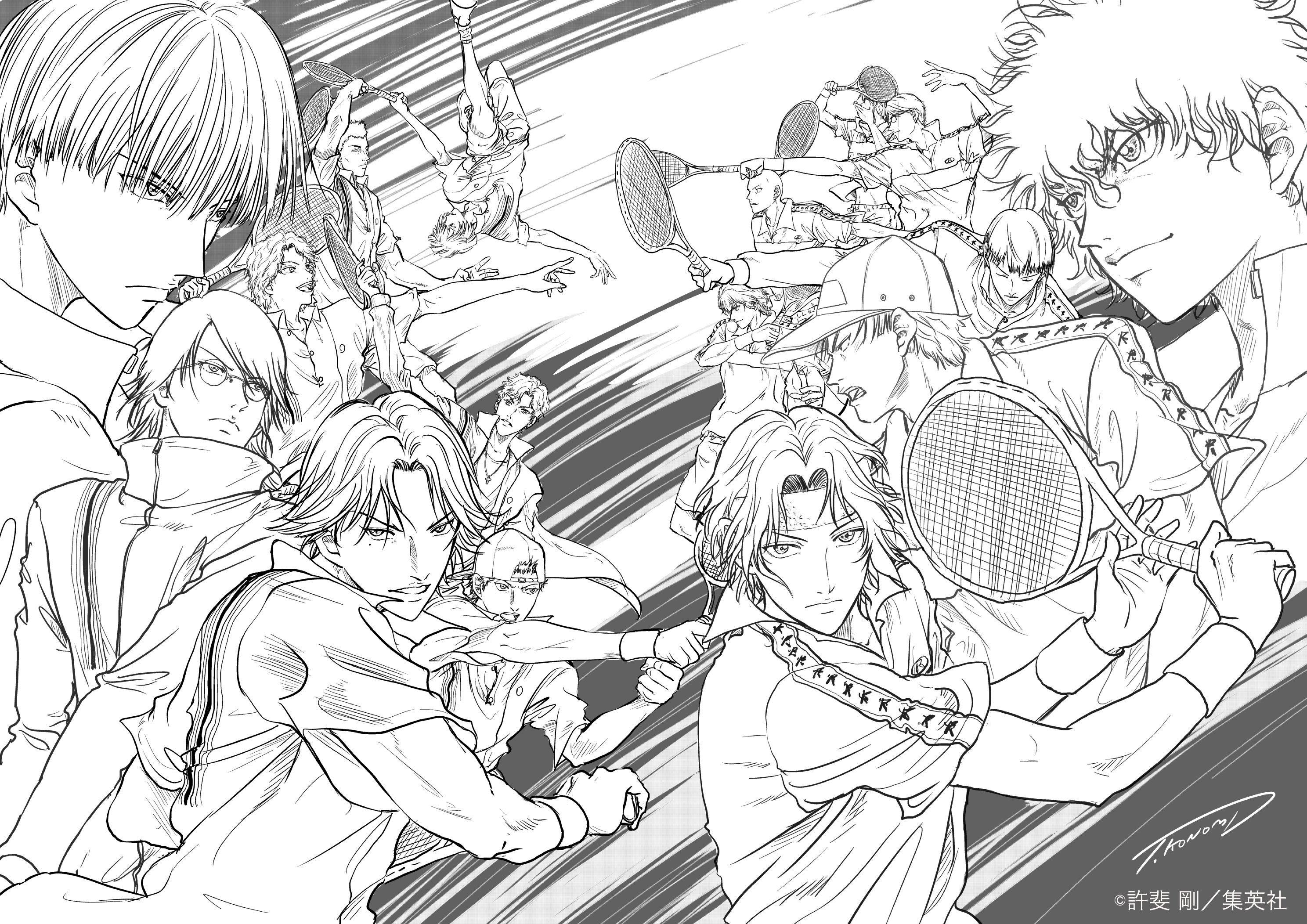 アニメ 新テニスの王子様 公式 on twitter テニスの王子様 テニプリ 新テニスの王子様