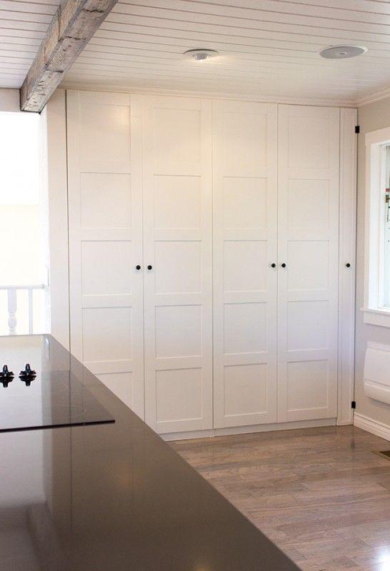 ikea kitchen hack pax wardrobe pantry broom closet Ikea