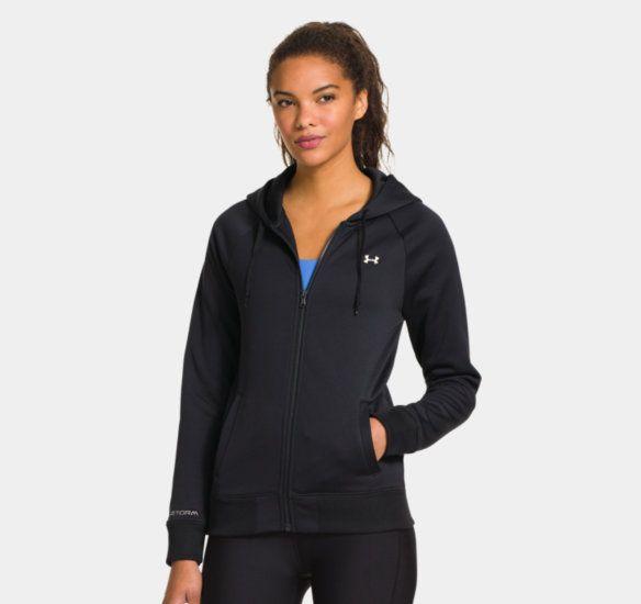 Women's UA Armour® Fleece Full Zip Hoodie   1248644   Under Armour US