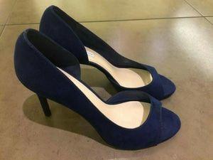 Sepatu Wanita Original Charles N Keith 046 Navy Sepatu Wanita