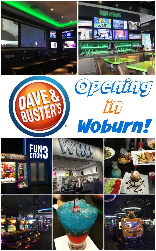 Dave And Buster S Is Opening In Woburn Dave Busters Busters Woburn