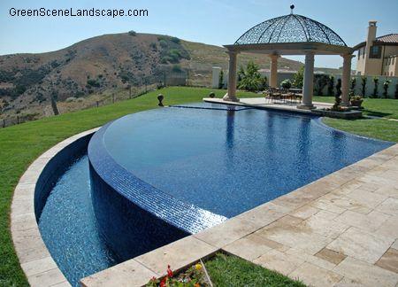 The green scene award winning landscape design and for Pool design graphic