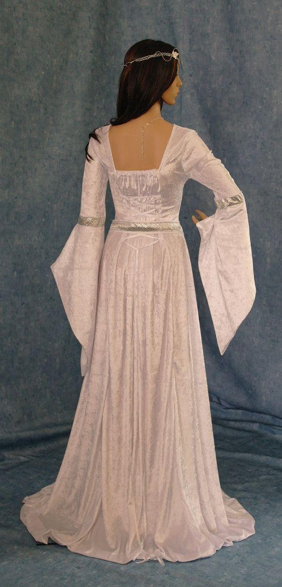 Vestido de elfa boda celta cinturón faja por camelotcostumes ...