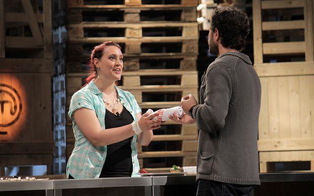 Jessica ottiene un grembiule da Cracco