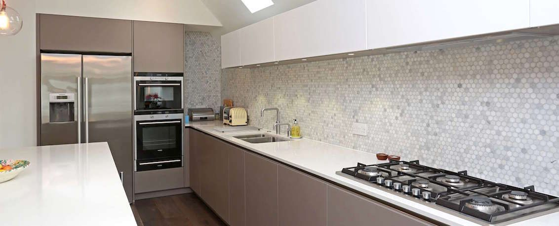 Tiled Splashbacks For Kitchens Ideas Part - 30: Mosaic Tiled Splashback