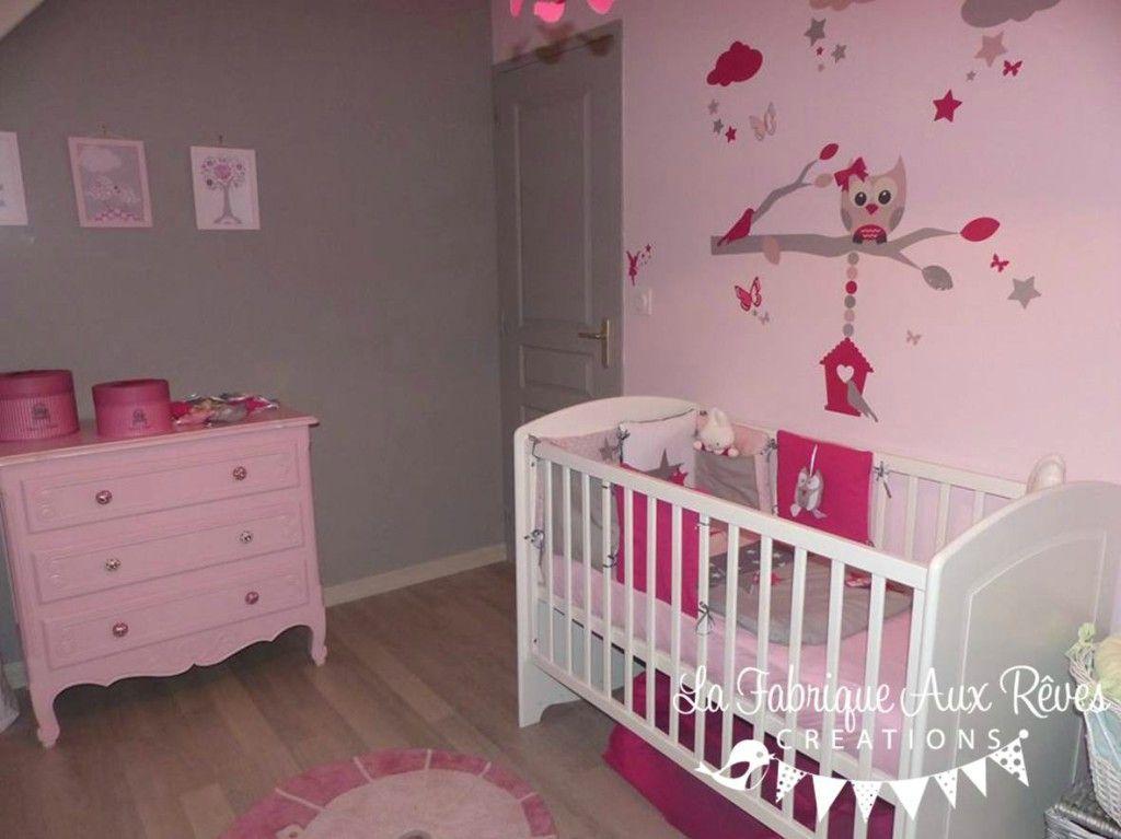 chambre bebe fille deco – visuel   Idée déco chambre bébé ...