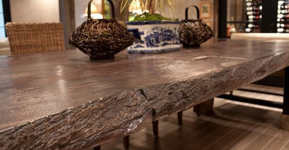 Concrete Countertops That Look Like Real Wood Concrete Furniture