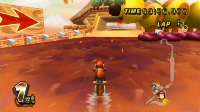 Maple Treeway from Mario Kart Wii