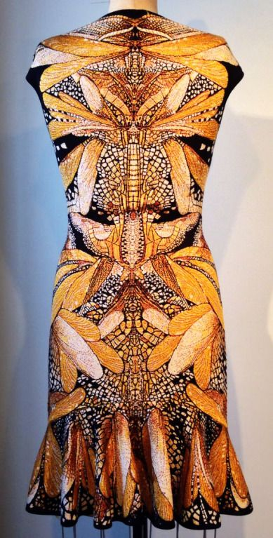 """di-kot-o-me: """" Rare Alexander McQueen knit dress from the final McQueen Collection 2010. Sighs and whispers….. just lovely….. It's for sale :) …. Here. """""""