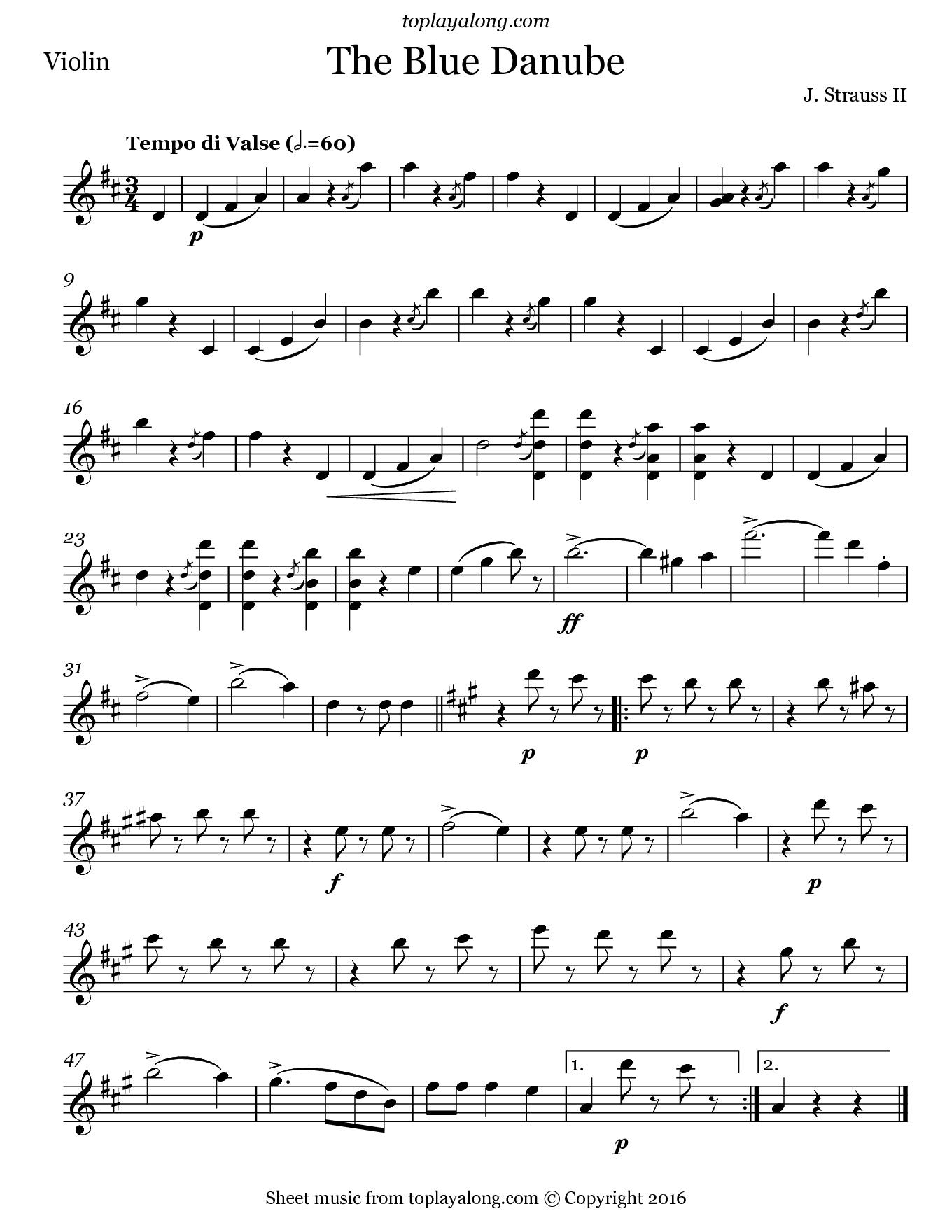 Results including keyword johann strauss blue danube waltz