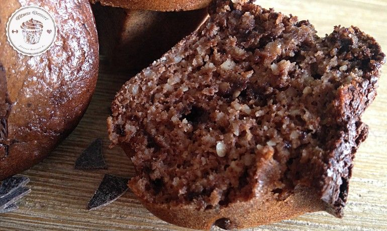 Schoko Muffins Low carb | fitness-dessert.de