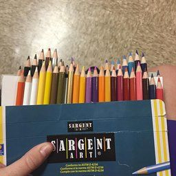 Sargent Art Premium Coloring Pencils 22-7251 Pack of 50 Assorted Colors