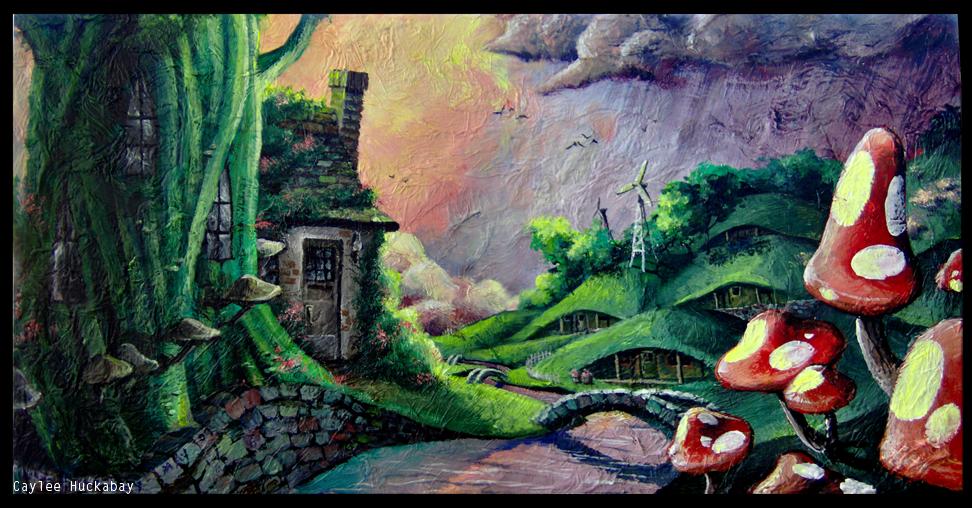 Living Near Gnomes by bezzalair on DeviantArt