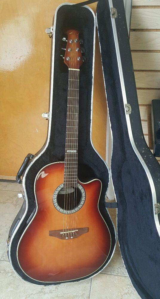 Limited Edition Ovation Celebrity Acoustic Electric Guitar Mfcc 026 Sunburst Ovation Ovation Guitar Acoustic Electric Guitar Guitar