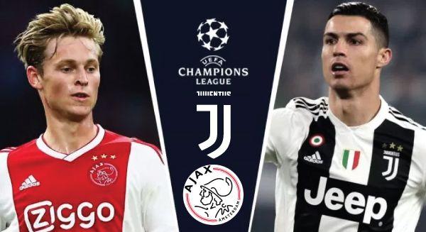 Juventus vs ajax live stream
