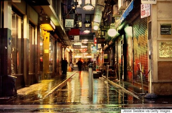 These Photos Prove Melbourne Is Beautiful Even When It S Raining Ghost Images Melbourne Weather Night Photography