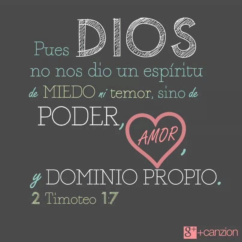Espíritu De Valor Frases Cristianas Frases Dios Y