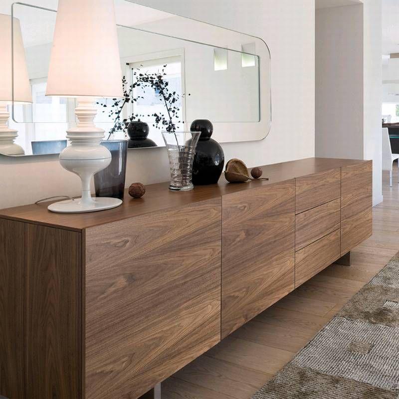 Antonello Italia Aura240 Wooden Storage Cabinet Contemporary