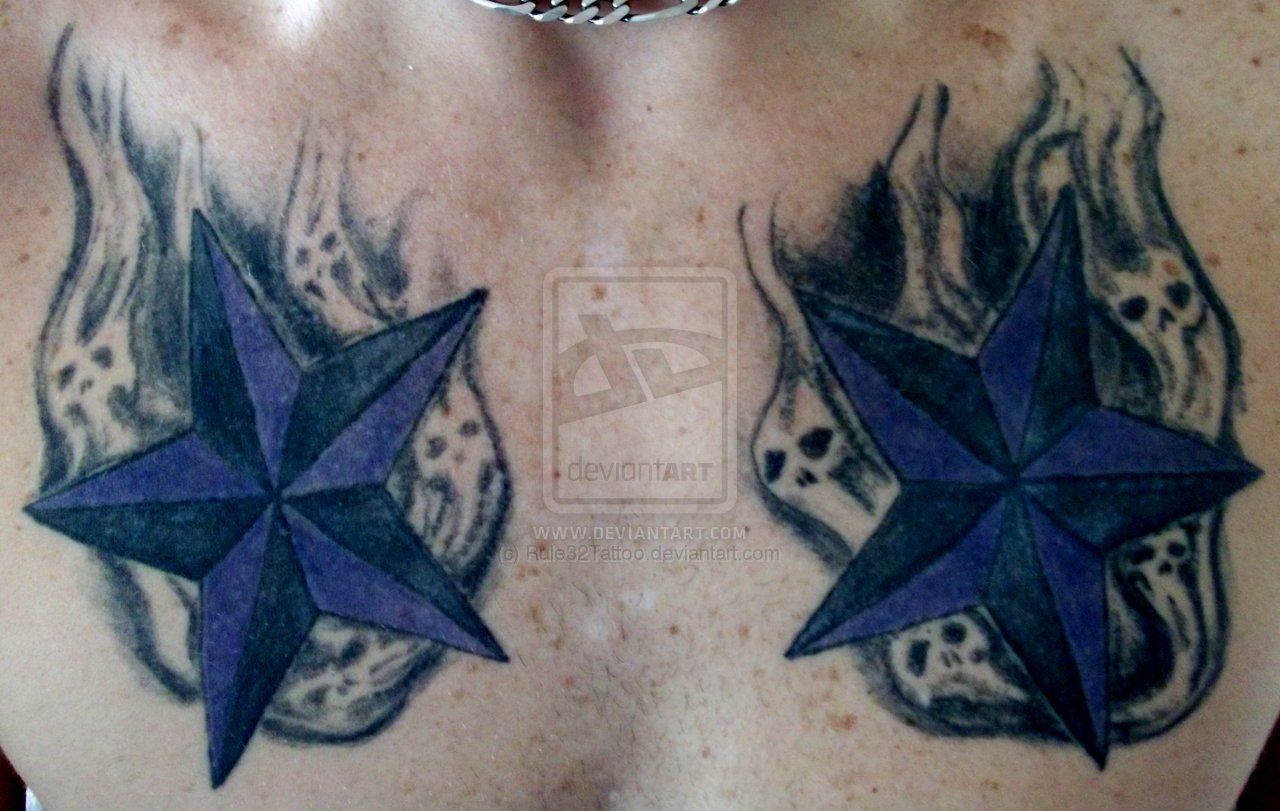 Smoke Tattoos Designs Smoke Skull Stars By Rule32tattoo On Deviantart Chest Piece Tattoos Tattoos For Guys Skull