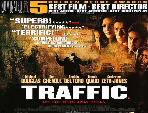 Traffic 2000 Movie Posters Film Cinema Posters