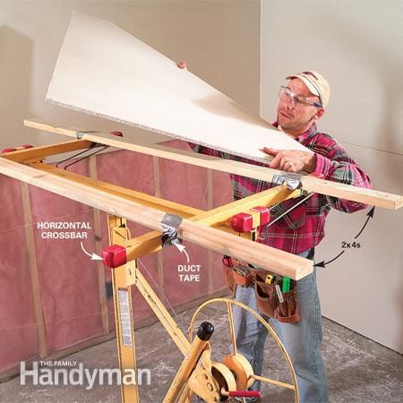 How To Hang Drywall Use A Lift Casero