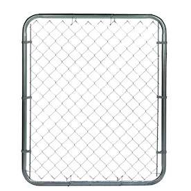 Chain Link Fence Fencing Gates At Lowes Com Chain Link Fence Chain Link Fence Gate Fence Gate