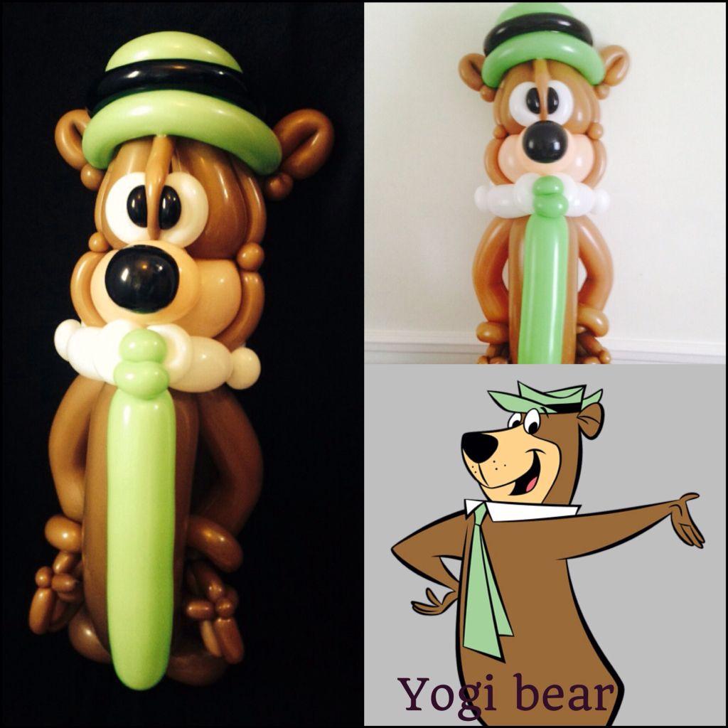 yogi bear :) #balloons #yogibear