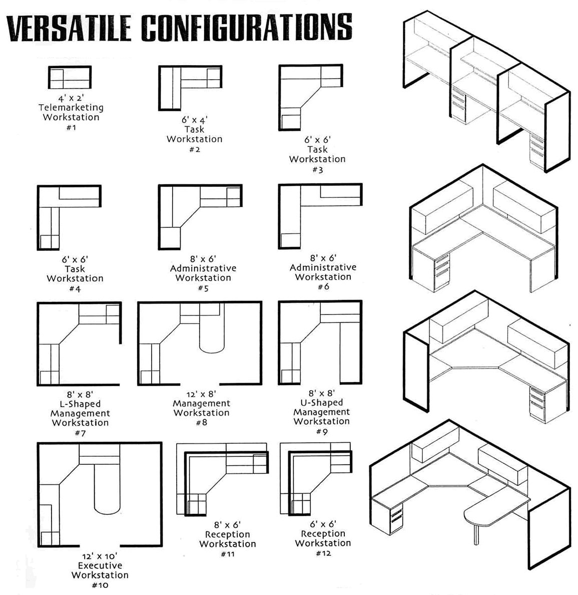 office furniture layout office cubicle