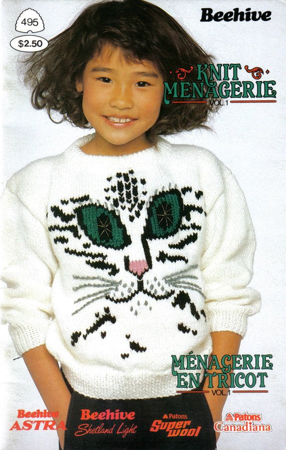Beehive 495 Knit Menagerie Knitting Patterns By Stitchingbynumbers