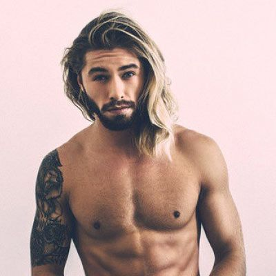 Cool 1000 Images About Long Hair And Beard Motivation On Pinterest Hairstyles For Men Maxibearus