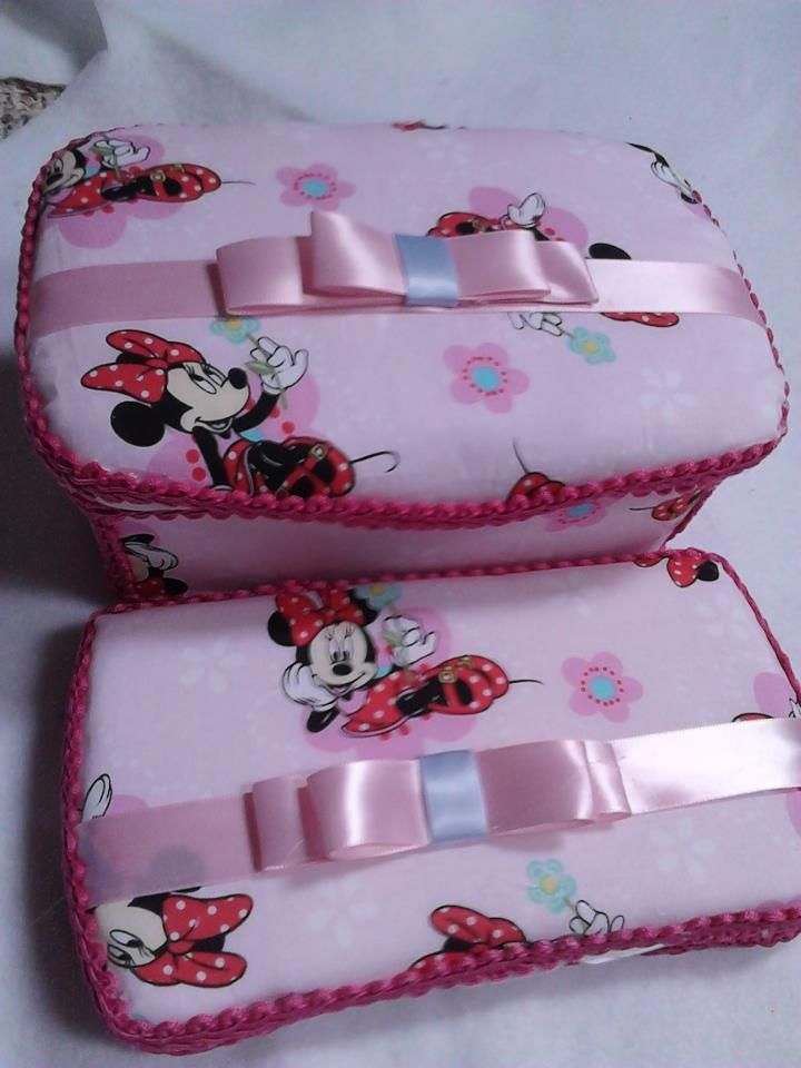 minnie mouse baby wipes case gift set #babyshower