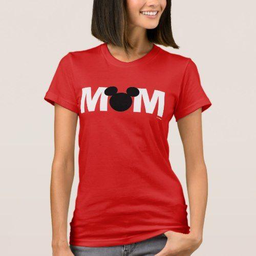 Mickey Mouse | Mom Birthday T-Shirt | Zazzle.com #mickeymousebirthdaypartyideas1st