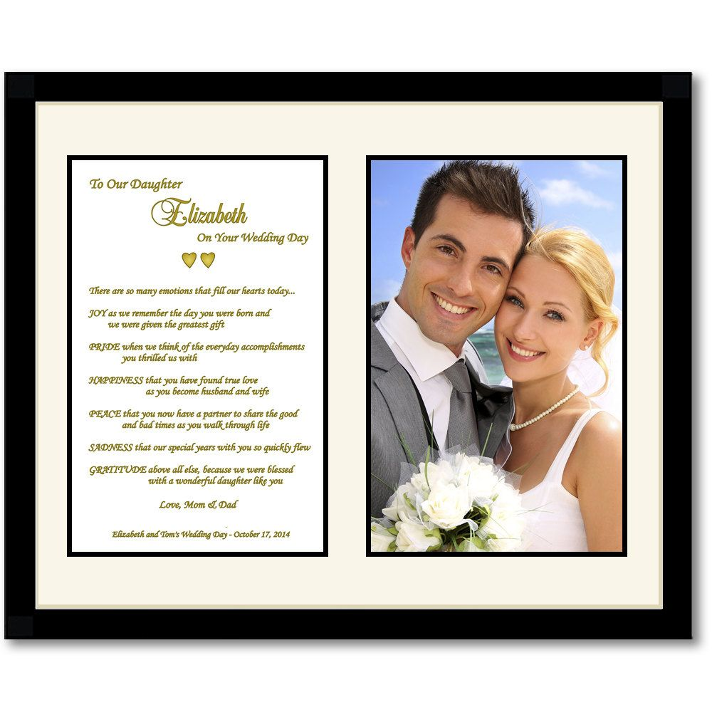 Parents To Daughter Poem For Daughters Wedding Day Touching Gift From Mom And Dad